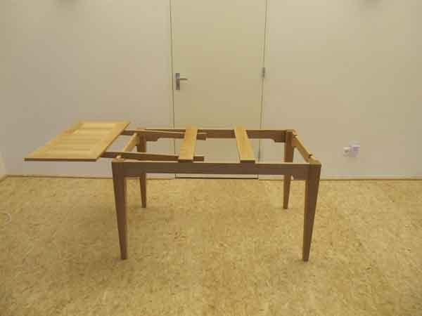 2.CQ houtbewerking uitschuiftafel