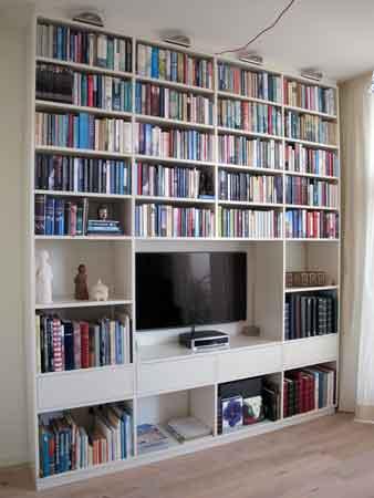 1.CQ houtbewerking boekenkast