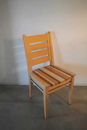 1.CQhoutbewerking stoel