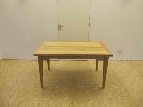 6.CQ houtbewerking uitschuiftafel